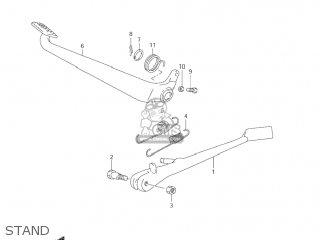 Suzuki Vz800 Marauder 2004 (k4) Usa (e03) parts list