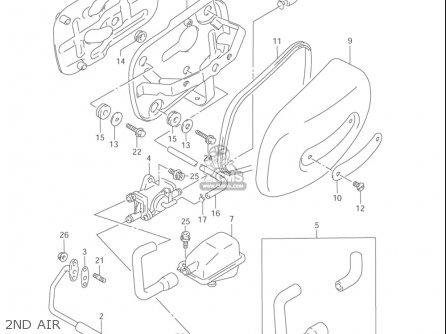 Suzuki Vz800 Marauder 2004 (usa) parts list partsmanual