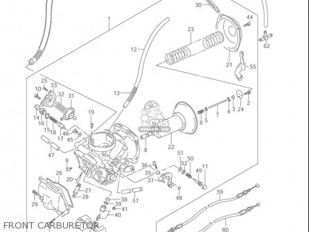 Suzuki Vz800 Marauder 2004 (usa) parts list partsmanual