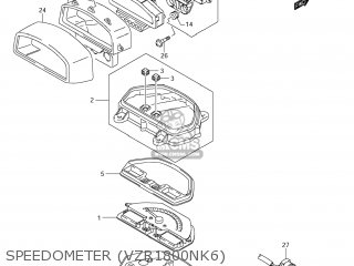 Suzuki VZR1800 BOULEVARD M109R 2008 (K8) CALIFORNIA (E33