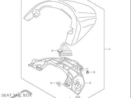 Suzuki Vzr1800 (usa) parts list partsmanual partsfiche