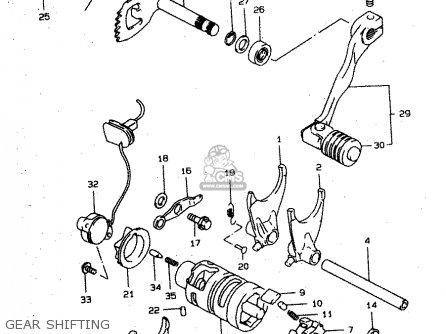 Suzuki Xf650 1999 (ux) parts list partsmanual partsfiche