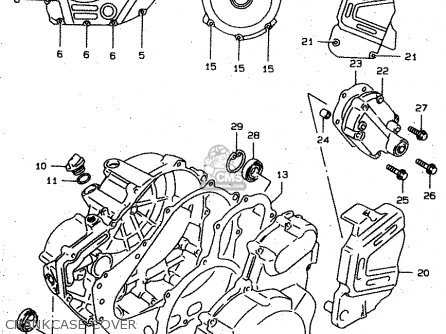 Suzuki XF650 1999 (X) (E02 E04 E17 E18 E22 E24 E25 E34