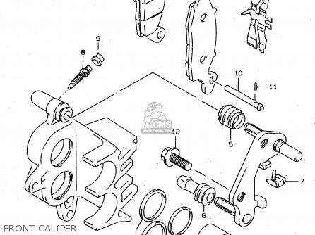 Suzuki XF650U 1999 (X) (E22) parts lists and schematics