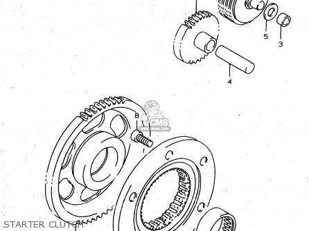 Suzuki Xf650u 1999 (x) (e22) parts list partsmanual partsfiche