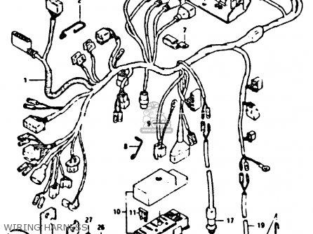 Suzuki XN85 1983 (D) (1 2 4 6 15 16 17 18 21 22 24 25 26