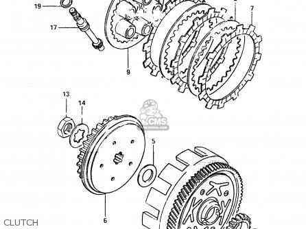 Suzuki Zr50 1982 (skx) parts list partsmanual partsfiche