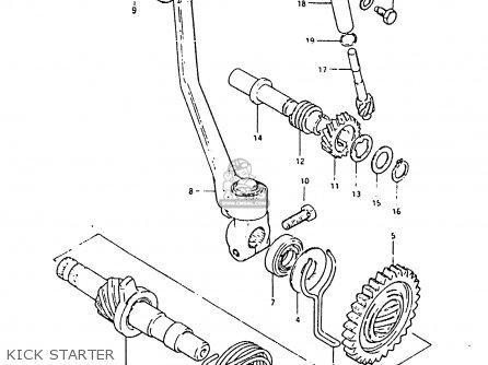 Suzuki Zr50sk 1984 (e) (e02 E16 E21) parts list