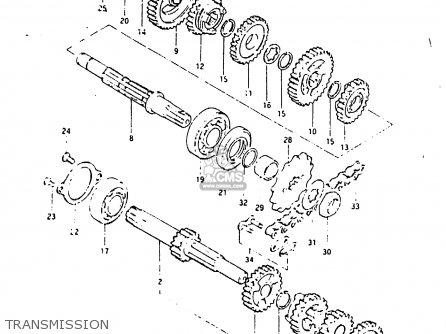 Suzuki ZR50SK 1987 (H) (E02 E16 E21) parts lists and