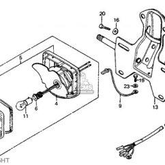 1975 Ct90 Wiring Diagram Razor Mini Chopper Base Tail Light For Mt250 Elsinore K1 Usa Order At Cmsnl