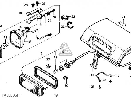 LID,TOOL BO*R109*, fits TRX300 FOURTRAX 300 1995 (S) USA