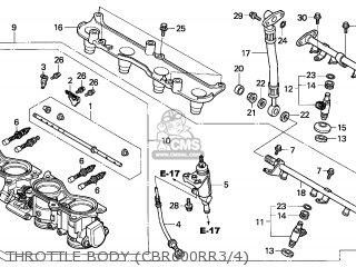 Honda CBR900RR '2003 CBR954RR 2003 Parts