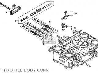 Honda VFR800FI '2001 VFR800Fi Interceptor 2001 Parts