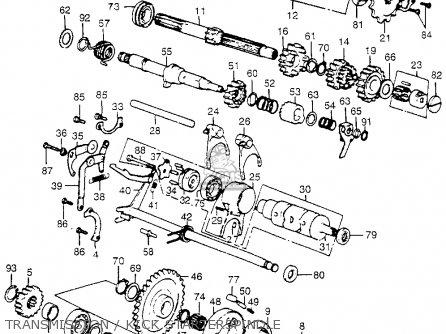 Honda Atc125m Wiring Diagram Honda ATC200S Wiring Diagram