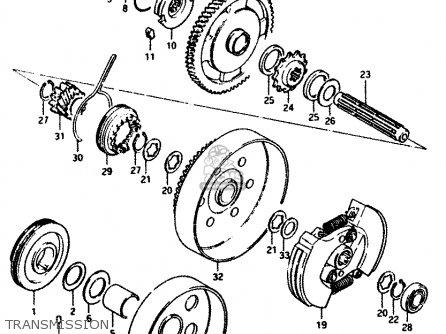CLUTCH ASSY NO.2 for FZ50 1982 (Z) (E01 E02 E09 E16 E24