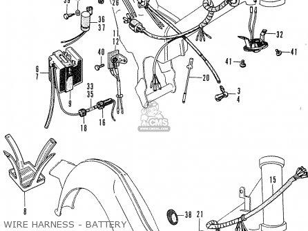 (31500-437-752) Battery(6n4-2a-4) C50 Cub 1969 England