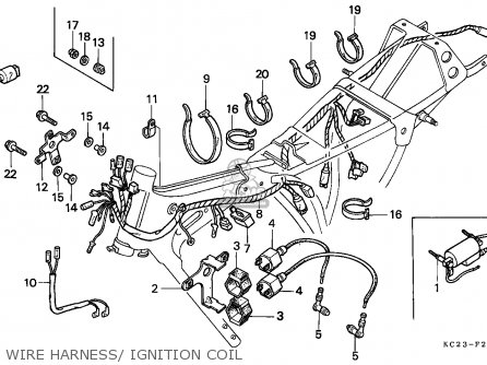 HARNESS,WIRE for CM125C CUSTOM 1985 (F) FRANCE / KPH