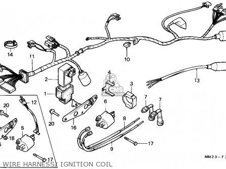 UNIT COMP.,CDI for CMX450C REBEL 1987 (H) USA CALIFORNIA