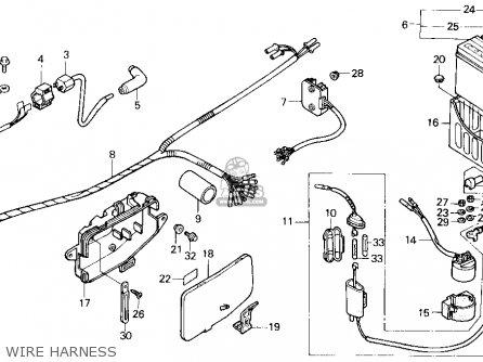 UNIT COMP.,CDI for TRX200SX FOURTRAX 200SX 1986 (G) USA