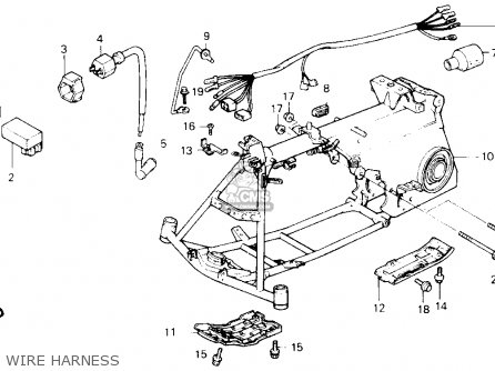Wiring Diagram For Honda Atc 70 Honda 4 Wheeler Wiring