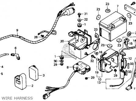 1987 Honda Trx 70 Wiring Diagram Honda TRX 350 Wiring