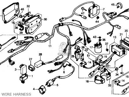 1988 Honda Trx 300 Wiring Diagram Honda Recon 250 Wiring