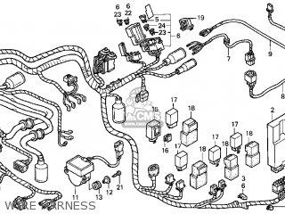 SUB HARNESS,TRNUK for GL1500CF VALKYRIE INTERSTATE 1999 (X