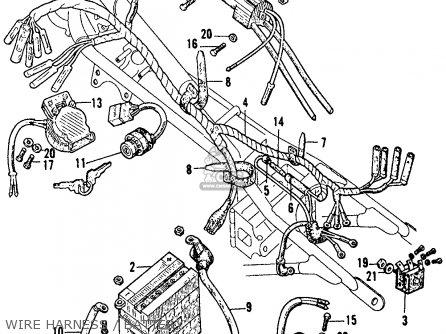 Honda Cb175 Wiring Diagram Honda Mt250 Wiring Diagram