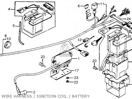 1978 honda ct70 wiring diagram complicated water cycle 1980 database brkt ignition coil for trail 70 a usa order at cmsnl cl70