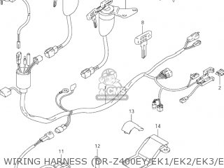PROTECTOR,WIRING HARNESS for DR-Z400SM 2005 (K5) USA (E03