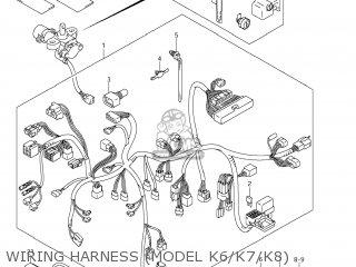 HARNESS, WIRING for VL800 BOULEVARD C50 2006 (K6) USA (E03