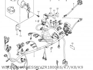 BRACKET,IGNITION SWITCH for VZR1800N BOULEVARD M109R 2007