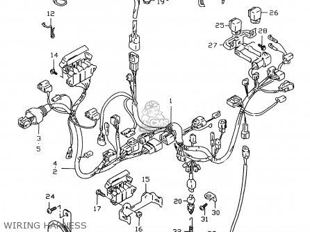 suzuki gsx r 750 wiring diagram yamaha ybr 125 wiring