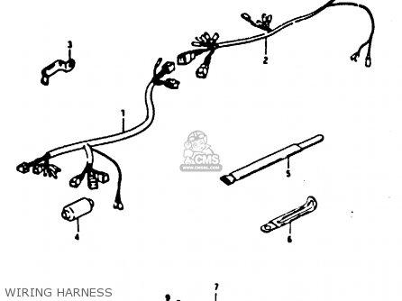 Wiring Harness No.1 Ts125 1979 (n) (e08 E13 E14 E24 E30