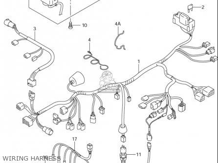 Suzuki Bandit 1200 Wiring Diagram Suzuki B-King Wiring