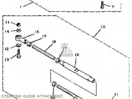 Yamaha 115 ETK 1985 parts lists and schematics