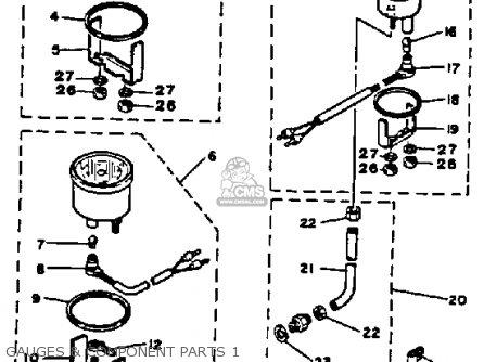 Yamaha 115 ETLN/ETXN 1984 parts lists and schematics