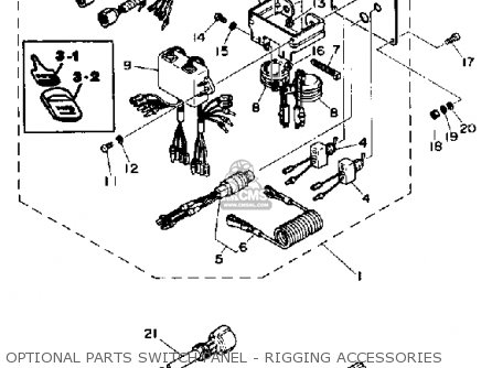 Yamaha 115/130 Etd 1990 parts list partsmanual partsfiche
