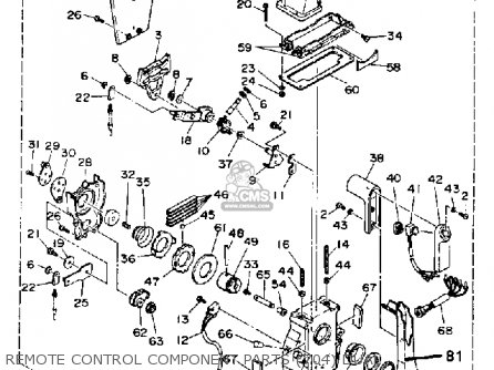 Yamaha 704 Remote Diagram Parts Yamaha 90 HP Outboard
