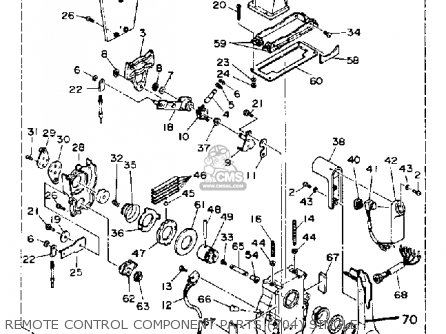 Yamaha 115/130 ETD 1990 parts lists and schematics