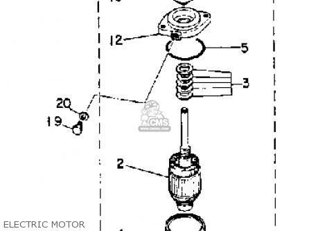 Yamaha 115/130 Etg 1988 parts list partsmanual partsfiche