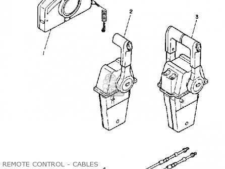 Yamaha 115/130 ETG 1988 parts lists and schematics