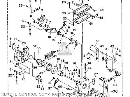 Yamaha 115/130 ETG 1988 parts lists and schematics