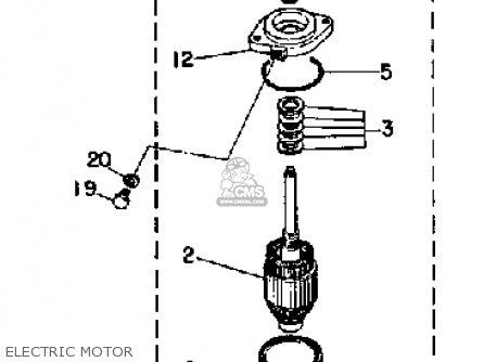 Yamaha 115/130etf 1989 parts list partsmanual partsfiche
