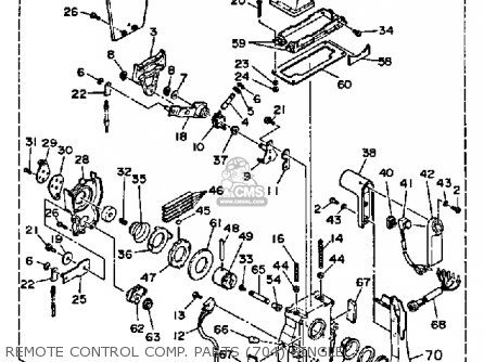 Yamaha 115/130etf 1989 parts list partsmanual partsfiche