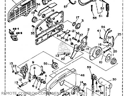 Yamaha 115/130ETF 1989 parts lists and schematics