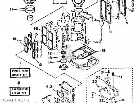 Yamaha 115/130ETF 1989 parts lists and schematics