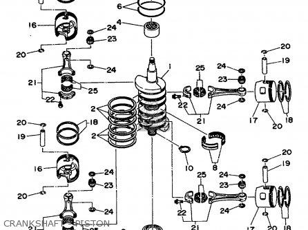 Yamaha 115/130/l130trs 1994 parts list partsmanual partsfiche