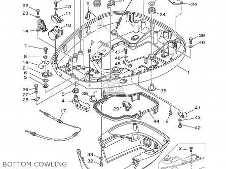 Yamaha 115/130/l130try 2000 parts list partsmanual partsfiche