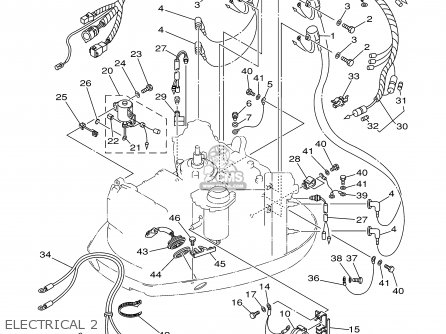 Yamaha 115/130/L130TRY 2000 parts lists and schematics